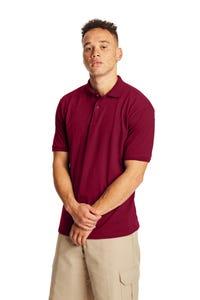 Hanes EcoSmart® Jersey Polo Shirt - 054X