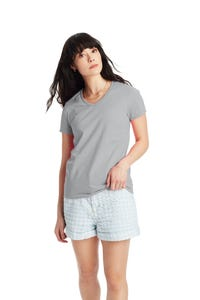 Hanes Essential-T Women's Short Sleeve V-Neck T-shirt - 5780