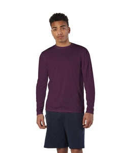 Champion Double Dry Long-Sleeve Interlock T-shirt - CW26