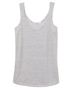 Alternative Castaway Eco-Jersey Yarn Dye Stripe Tank Top - 02001EJ