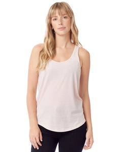 Alternative Satin Jersey Shirttail Tank Top - 04031C1