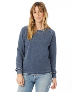Alternative Lazy Day Burnout French Terry Pullover Sweatshirt - 08626FH
