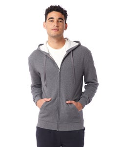 Alternative Eco-Cozy Fleece Zip Hoodie-08805PF