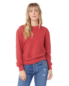 Alternative Throwback Washed Terry Sweatshirt - 09903CT