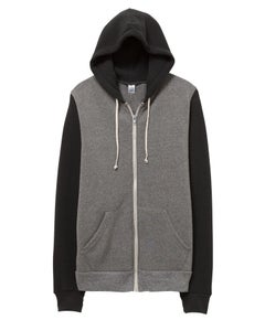 Alternative Rocky Color-Block Eco-Fleece Zip Hoodie - 32023F2