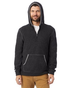 Alternative Eco-Teddy Outdoor Quarter-Zip Hoodie - 43251RT