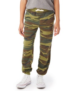 Alternative Dodgeball Printed Fleece Youth Pants - K9881GB