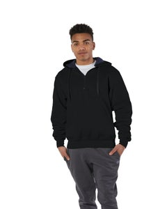 Champion Cotton Max Quarter-Zip Hoodie - S185