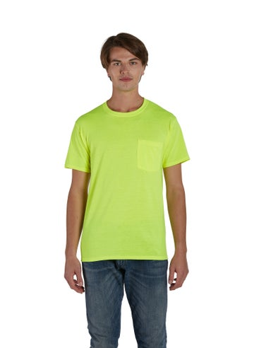 Hanes Workwear Short-Sleeve Pocket T-Shirt - W110