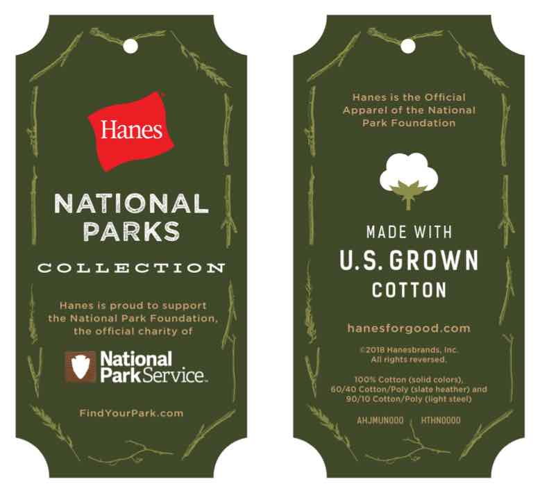 Hanes National Parks Collection